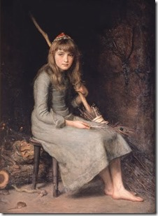 John Everett Millais - Cinderella