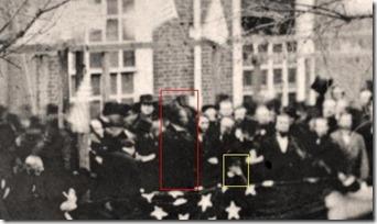 Lincoln at Philadelphia 1861