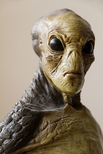 Evil Extraterrestrial on planet kepler 186f